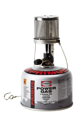 Primus Micron Lantern with Piezo Ignition (Gray), Outdoor Stuffs