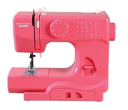 Amazon Janome Pink Lightning Basic EasytoUse 40Stitch Simple Janome Basic 10 Stitch Portable Sewing Machine