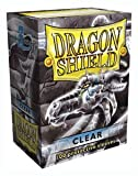 Dragon Shield Sleeves - CLEAR - Standard Size Deck Protectors (100ct) Arcane Tinmen