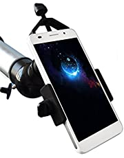 Universal Cell Phone Adapter Mount Compatible with Binocular Monocular Spotting Scope Telescope and Microscope for iPhone Sony Samsung Moto Etc Record The Nature of The World