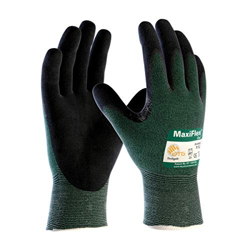 Protective Industrial Products Size 3X MaxiFlex Cut by ATG Nitrile Work Gloves With Engineered Yarn Liner And Knit Wrist - Pack of 12 by PROTECTIVE INDUSTRIAL PRODUCTS (Image #1)