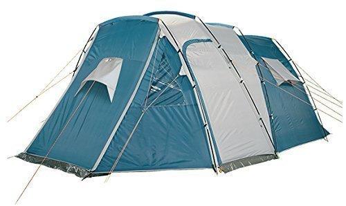 4Uniq Großraumzelt für 4 Personen 3000 mm Wassersäule Familienzelt Campingzelt 18786