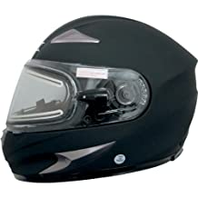 AFX FX-90 Snowmobile Helmet With Electric Shield - Flat-Black XL - 0121-0505 PS