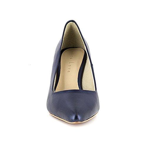 Loca Lova Zapato de Salón Cuero Azul