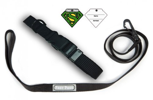 TSA Fast Pass Collar Leash Set - Large ()