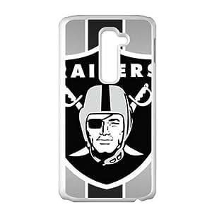 Raiders White Phone Case for LG G2