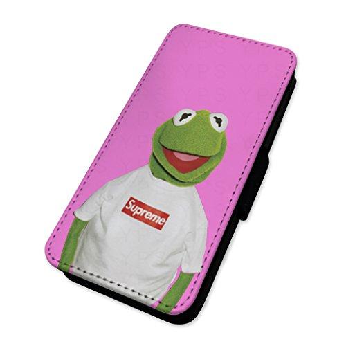 Divertente Kermit rana skater–Custodia ad aletta in pelle copertura di carta Apple Iphone 5/5s/SE