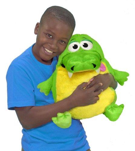 Tummy Stuffers Green Gator Plush Toy Buy Online In Uae
