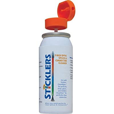 Sticklers MCC-POC03M Fiber Optic Splice & Connector Cleaner, 3 oz. Can