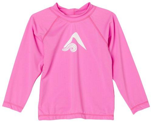 - Kanu Surf Little Girls' Toddler Keri UPF 50+ Long Sleeve Rashguard, Pink, 3T