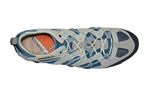 Merrell ,  Scarpe da camminata ed escursionismo uomo Multicolore Grau / Blau