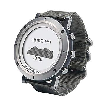 Relojes para hombres, Gama 1 North Edge Moda masculina Bandas de reloj tejidas profesionales Deportes
