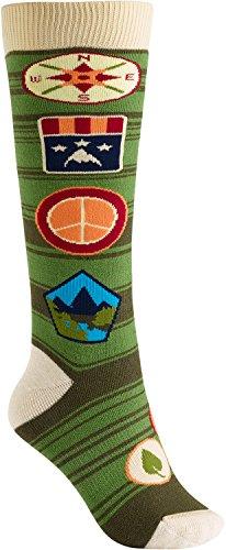 Burton Women's Party Socks, Patches, Small/Medium