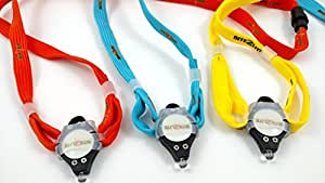 Bite2Lite LED Flashlight. Small, Durable, And Easy To Use With Breakaway Lanyard. Batteries Included. Bite, Squeeze, Or Use ON/OFF Switch. (Bite2Lite 3-Pack, Colors Vary)
