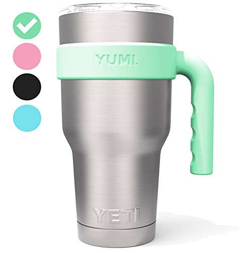 The Original YUMI Handle Perfectly Fits All Major Brand 30 Ounce Yeti Type Tumblers. Exclusive Scandinavian Design. (Tumbler Not Included)