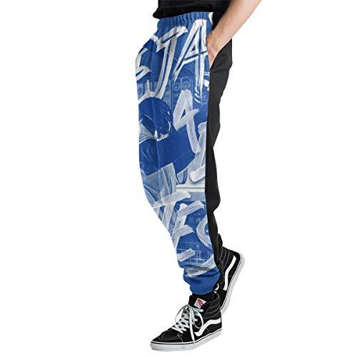 Lovesofun Toron-to Blue Jay-s Men's Casual Jogger Sweatpants Sports Trousers Pant Elastic Waist S ()