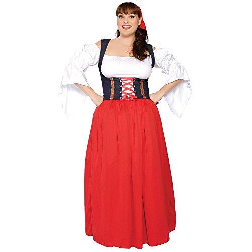 Swiss Miss Adult Costume - XX-Large