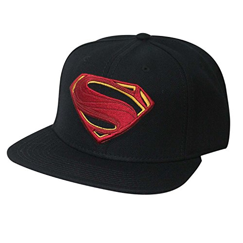 DC Comics Justice League Movie Superman Icon Embroidered Snapback