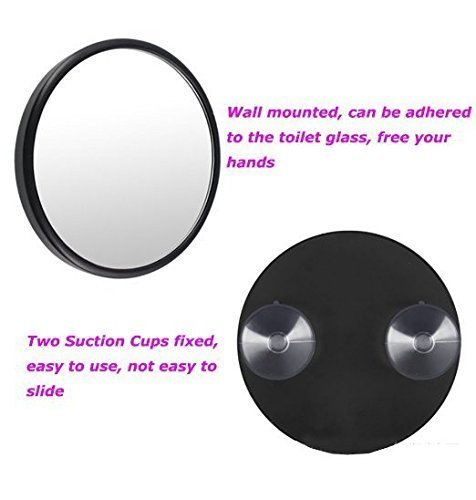 Alierkin Cosmetic Mirrors 10x And 15x Magnifying Makeup