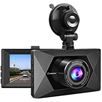 Crosstour Dash Cam 1080P FHD Mini in Car Dashboard Camera...
