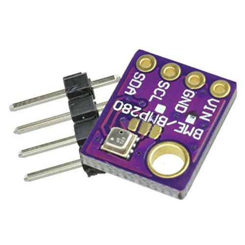 SODIAL(R) Temperature Humidity Barometric Pressure BME280 Digital Sensor Module