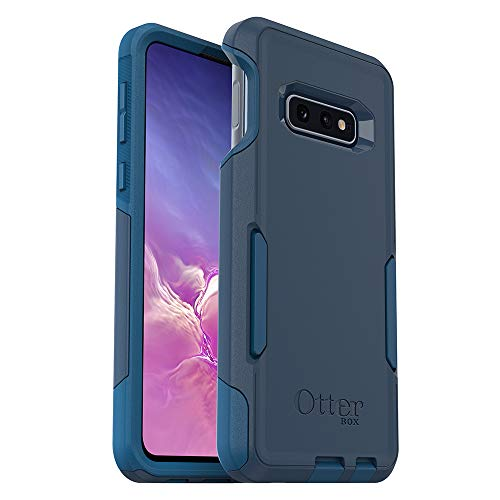 OtterBox COMMUTER SERIES Case for Galaxy S10e - Retail Packaging - BESPOKE WAY (BLAZER BLUE/STORMY SEAS BLUE) (Cell Case Commuter Phone)