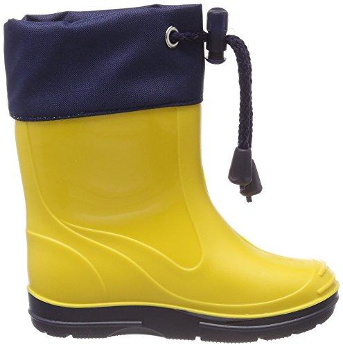 Beck Unisex-Kinder Basic Gummistiefel Gelb (Gelb)