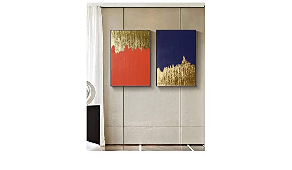 Geiqianjiumai Pintura al óleo Minimalista Moderna Lienzo Arte Regalo decoración del hogar Sala Arte de la Pared Pintura sin Marco 40x50 cm: Amazon.es: Hogar