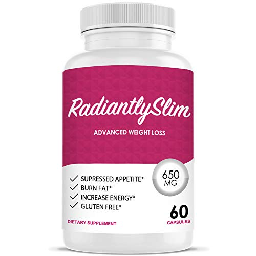 Radiantly Slim Pills for WeightLoss – Advanced Weigh Loss Supplement – Quicker Fat Burn – Carb Blocker Review