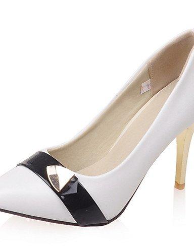 GGX/Damen Schuhe Stiletto Heel Spitz Zulaufender Zehenbereich Stift Pumpe mehr Farbe erhältlich red-us10.5 / eu42 / uk8.5 / cn43