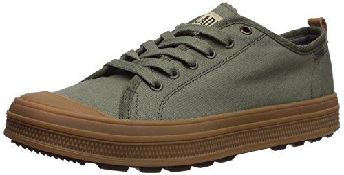 Palladium Men's Sub Low CVS Sneaker, Green, 9 Medium US