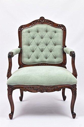 Laurel Crown Louis XV Fauteuil Armchair