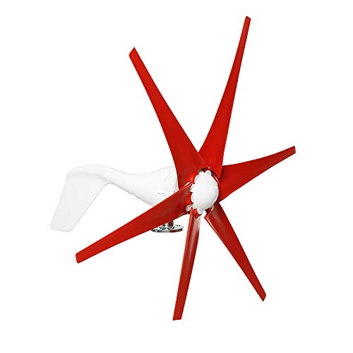 ZUINIUBI 1500W Wind Turbine 6 Blades DC12V/24V Wind for sale  Delivered anywhere in Canada