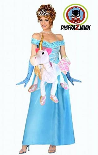 Disfraz de Despedida de Soltera de Princesa Unicornio (M): Amazon ...