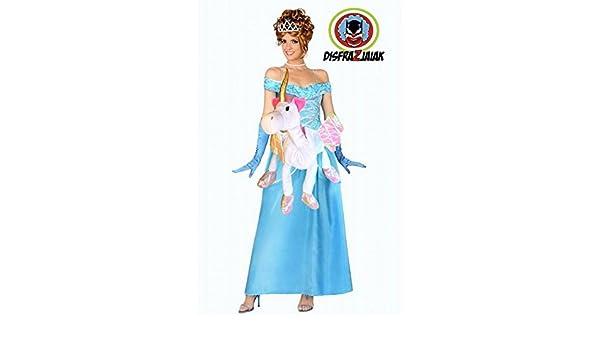 Disfraz de Despedida de Soltera de Princesa Unicornio (XL): Amazon ...