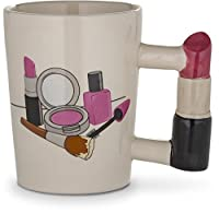 Decodyne Beauty Series Coffee Mug - Novelty Coffee Mugs (Lipstick)