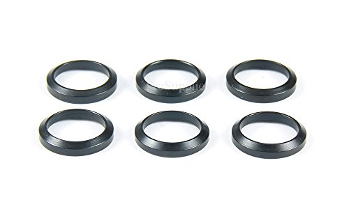 Muzzle Device (PROSUPPLIES 6 PCS Steel Crush Washers For 5/8