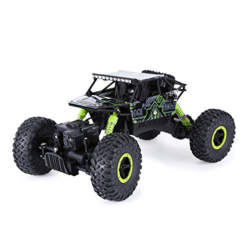 EoCot HB P1801 2.4GHz 1:18 Scale RC 4 Wheel Drive Toy Car Green