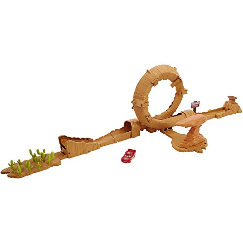 Disney Pixar Cars 3 Willy's Butte Transforming Track Set
