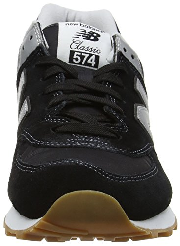 New Balance Men's 574 Vintage Low-Top Sneakers Black (Black) outlet amazing price cheap sale 100% original pdjB2G3e