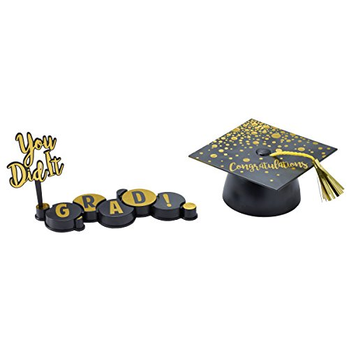 You Did It! Graduation Cake Decorating Set - -