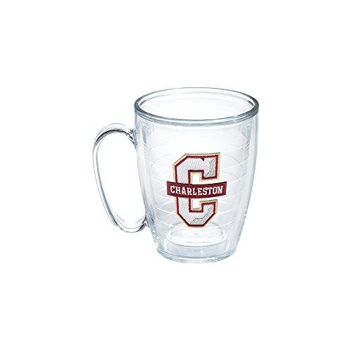 Tervis 1133368 Charleston College Emblem Individual Mug, 16 oz, Clear