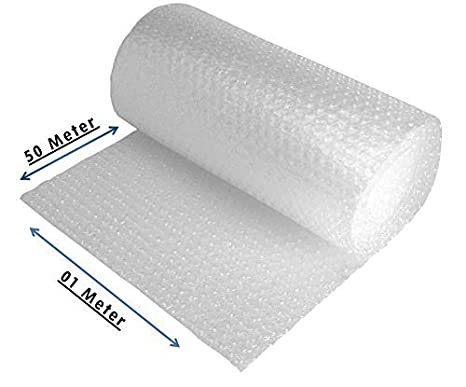 XEON Air Bubble/Rolls/Wrap (Size 1 mtr x 50 mtr) Bubble Wrap at amazon