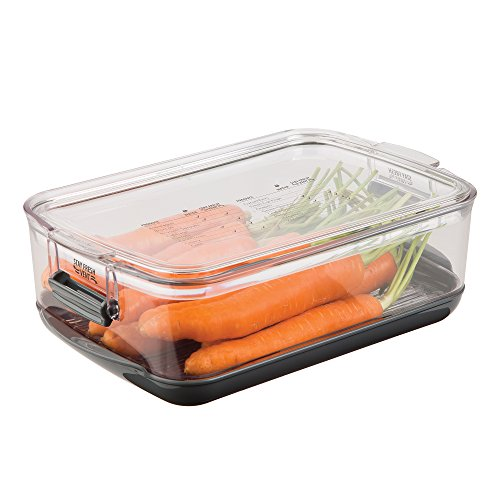 Prepworks by Progressive Produce ProKeeper, PKS-905, 3-Quart, Stay-Fresh Vent System, Small Peppers, Tomatoes