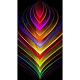 """TINMI ARTS-5D Diamond Painting Kits for Adults Full Round Mosaic Cross Stitch Kits Embroidery Kits Home Wall Décor[12""""X19"""" Colorful"""