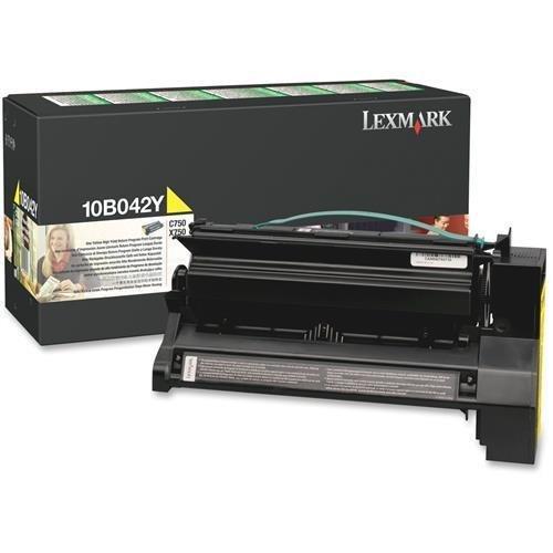 nt Cartridge F/C750,15,000 Page Yield,Yellow Ink (10B042Y) (Hi Yield Print)