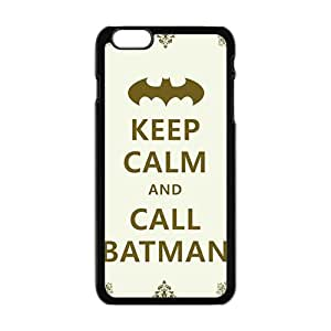Simple motto call Batman Cell Phone Case for Iphone 6 Plus