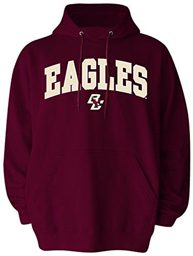 Old Varsity Brand NCAA Boston College Eagles Pullover Hood, Large, Maroon