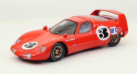 1/43 BRE ヒノサムライ JapanGP 1967 レジン製 レッド 44460