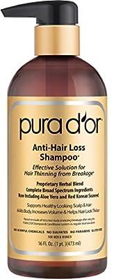 PURA D'OR Original Gold Label Shampoo & Conditioner Set